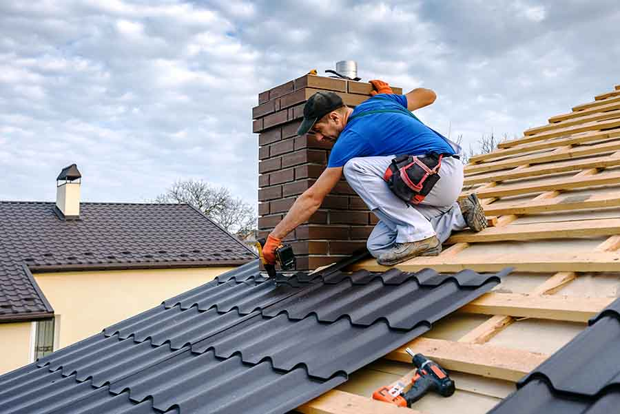 fire and hail restoration residential roofing